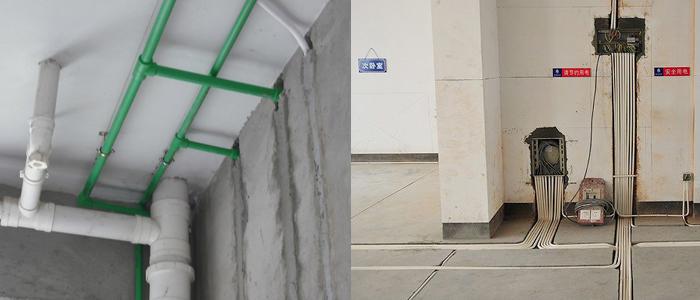 具体分析房屋情况 选择合适的水管走向