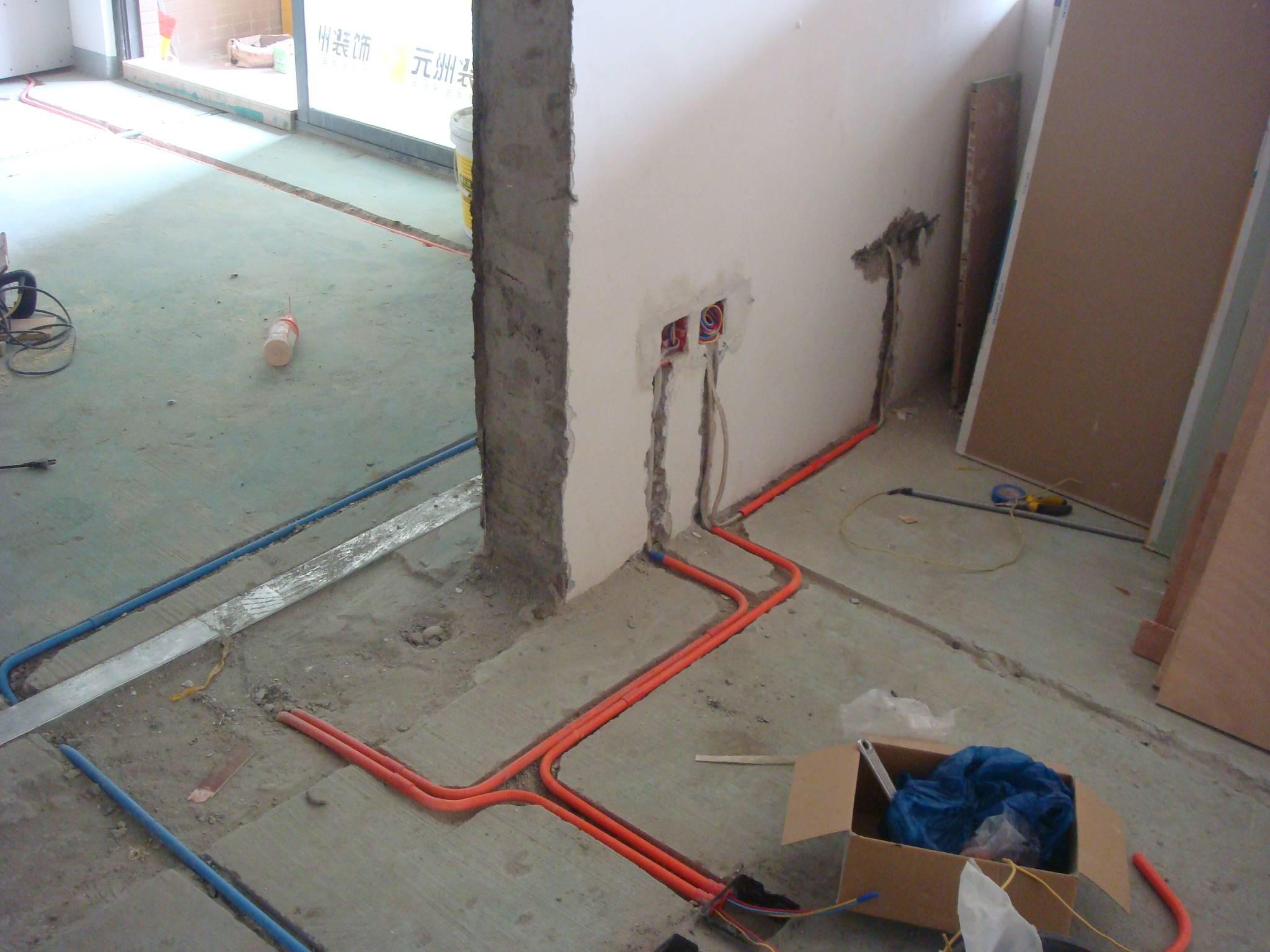 家居装修水管怎么安排
