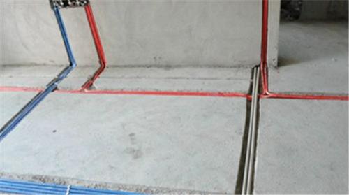 家装水电施工图 安装水电的规范内容解析